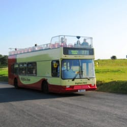 Open topped bus. Great on sunny days.…
