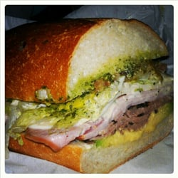 Pickle's Sandwich Shop - #12 Wild Wild West - Black angus roast beef ...