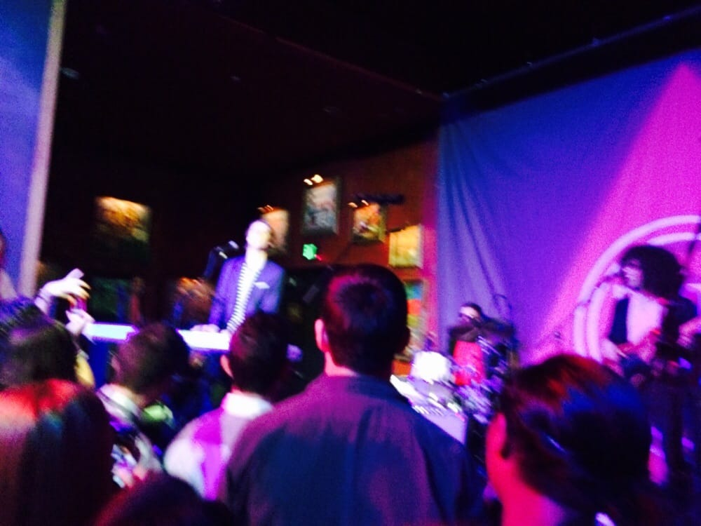 House of Blues Houston Seating House of Blues Blurry Pic of Eric Hutchinson at The House of Blues Houston