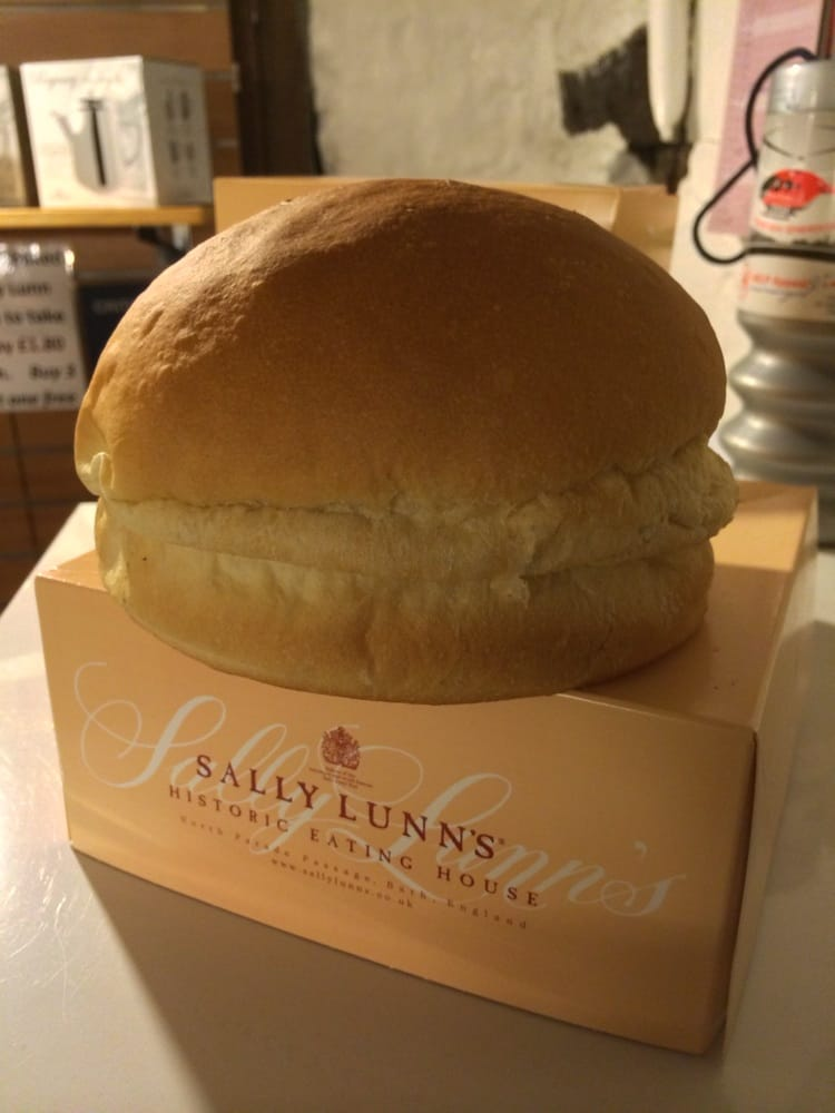 Sally Lunn Bun Sally Lunn 39 s Historic Eating House a Sally Lunn Bun Bath United Kingdom