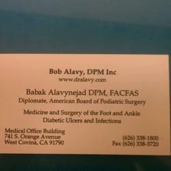 Bob Alavy, DPM logo