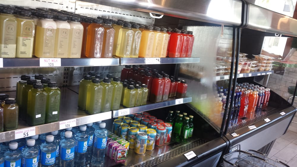 Juices to go but more importantly packages of their