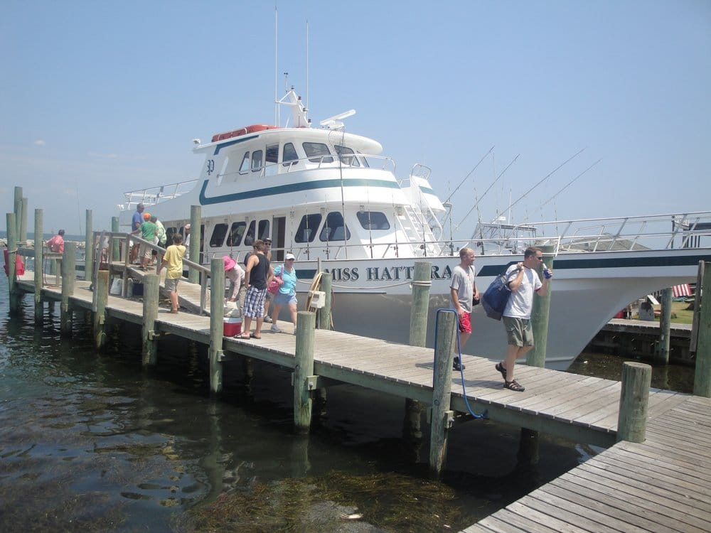 Miss hatteras party boat fishing hatteras nc united for Party boat fishing near me