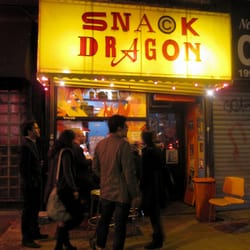 Snack Dragon Taco Shack - late night snacking at snack dragon - New York, NY, Vereinigte Staaten