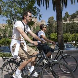 enjoy the day in Malaga with bike2malaga…