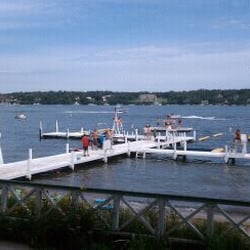 Covenant Harbor - Beautiful Sunday afternoon on the lake. - Lake Geneva, WI, Vereinigte Staaten