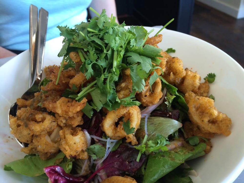 Crispy calamari salad | Yelp