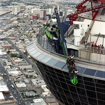 Stratosphere Tower Roller Coaster Accident X-scream - 20 photos ...