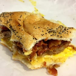 Bacon, Egg, And Cheese Sandwich, New York City Deli-Style ...