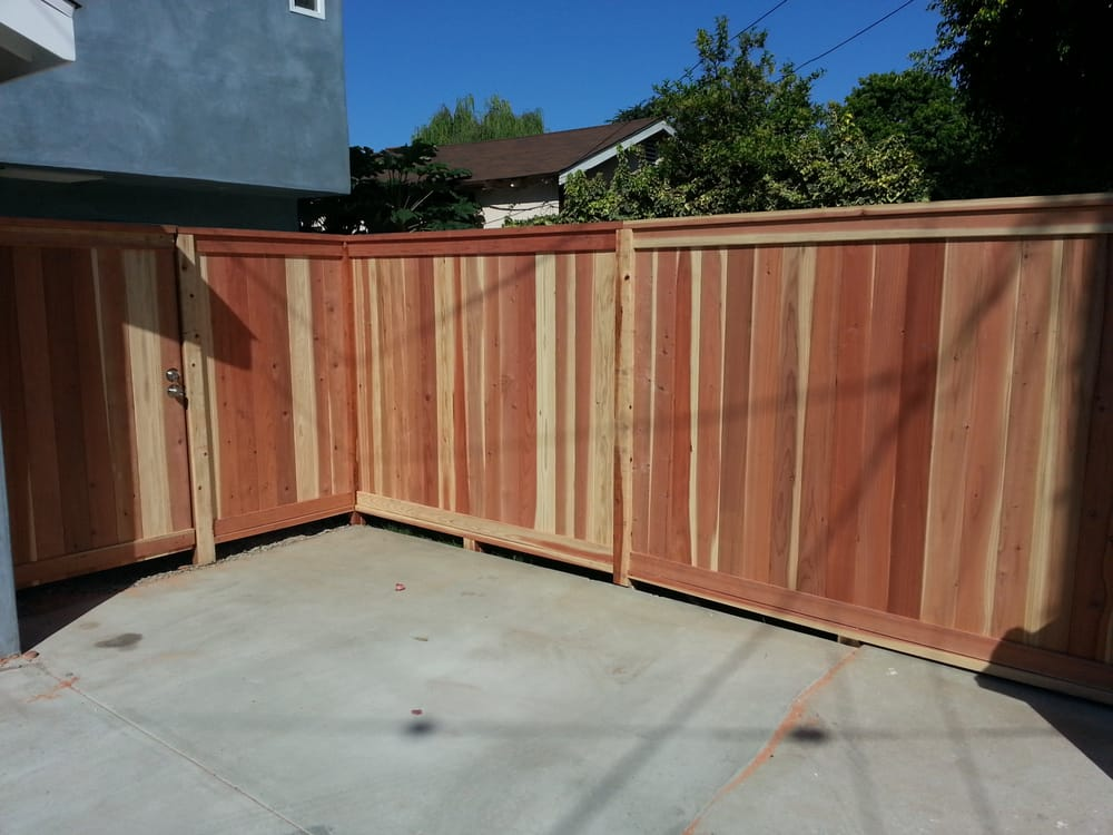 Redwood tongue and groove