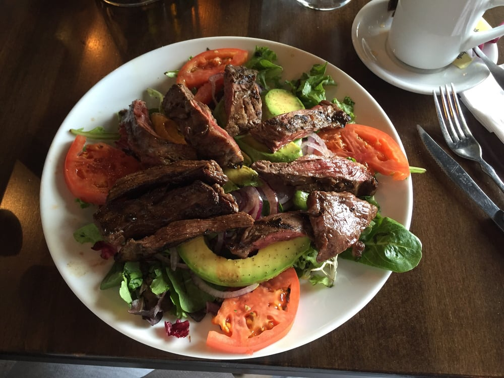 North Bergen (NJ) United States  City new picture : Rumba Cubana North Bergen, NJ, United States. Salad with skirt steak ...