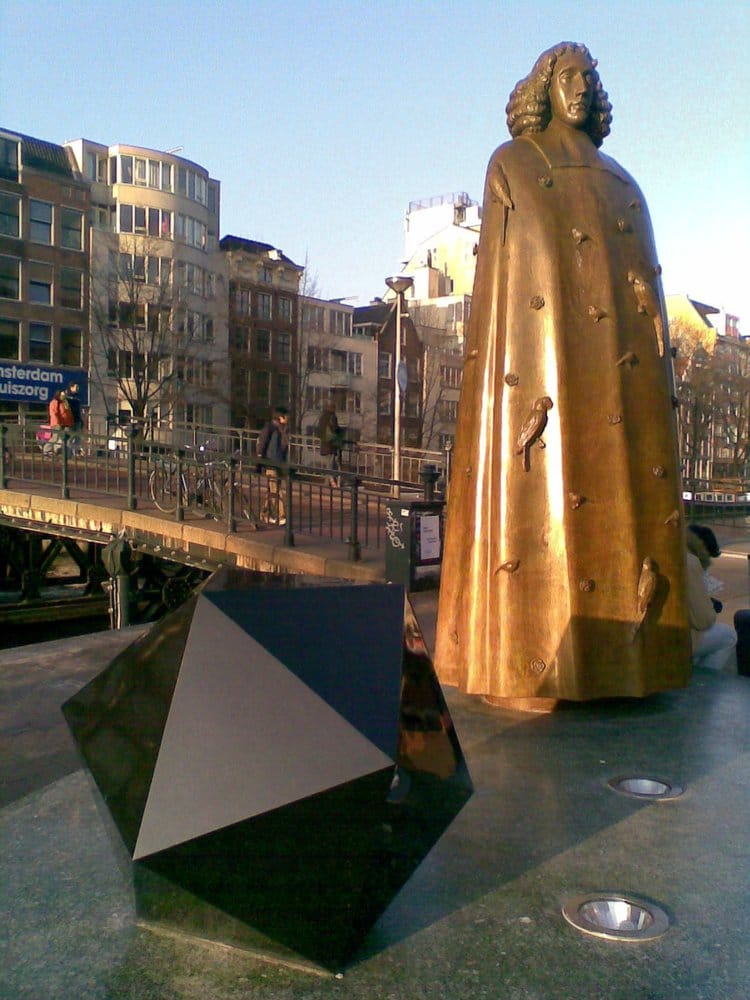 Citaten Spinoza Centrum : Spinoza monument centrum amsterdam noord holland