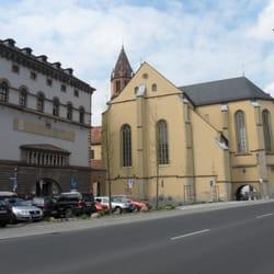 St Burkard, Würzburg, Bayern
