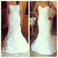 wedding dress repair