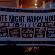 El Rodeo - South Portland, ME, États-Unis. Late night happy hour!