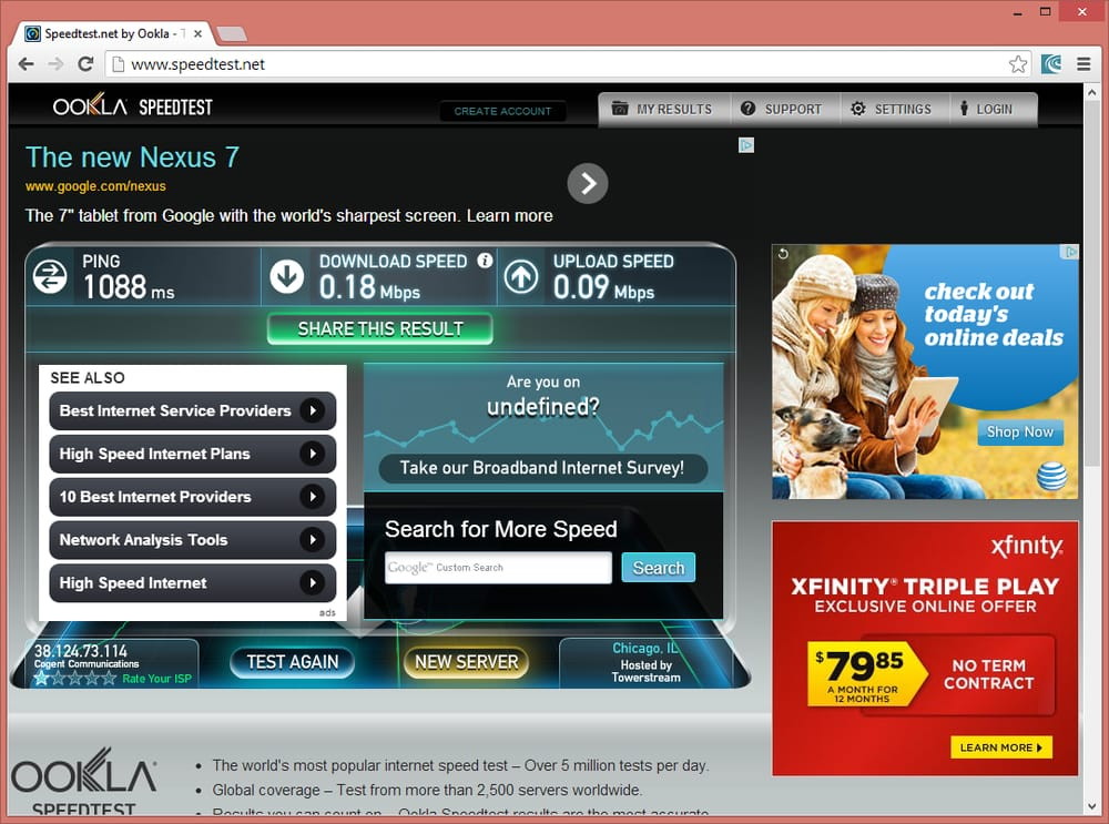 Best internet options in chicago