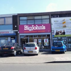 Big Johns Fish Chip Shop, Birmingham, West Midlands