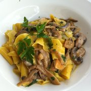 Amazing pasta with mushrooms