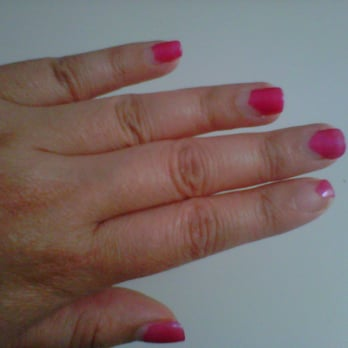 ManiQ Salon - Gel manicure after 1 week. - Boston, MA, United States