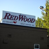 Redwood Golf Center - Redmond, WA, United States. Signage.