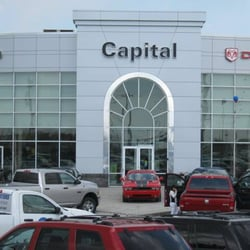 capital chrysler jeep dodge front view of our store edmonton ab. Cars Review. Best American Auto & Cars Review
