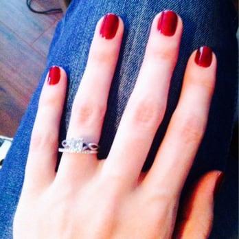 Nail Salon - Cedar Park, TX, États-Unis. Beautiful gel manicure