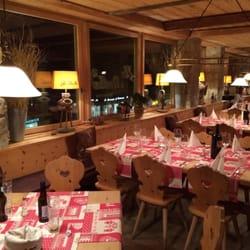 Restaurant la Stalla, St. Moritz, Graubünden, Switzerland