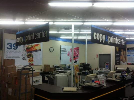 Located inside every Office Depot Store is the Copy and Print Center. With the same convenient hours and expert help you've come to expect from Office Depot, our Copy and Print Centers provide a full range of Document Reproduction Services as well as a host of other Custom Business Products.