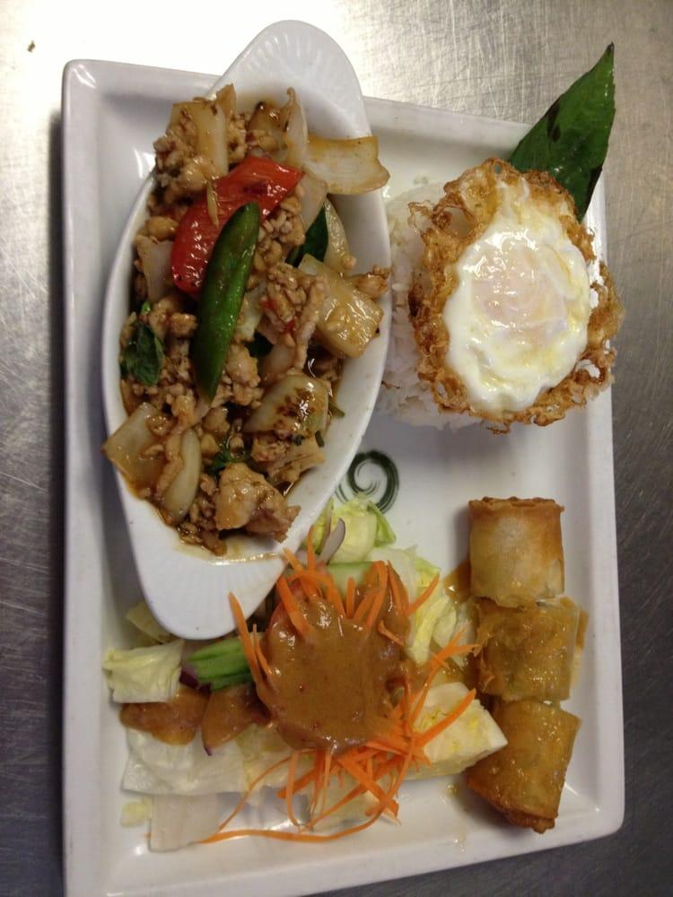 Pork wt thai basil yelp for At siam thai cuisine