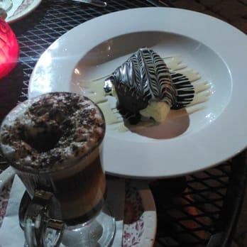 ... - Dania Beach, FL, United States. Caramel cappuccino with cheesecake