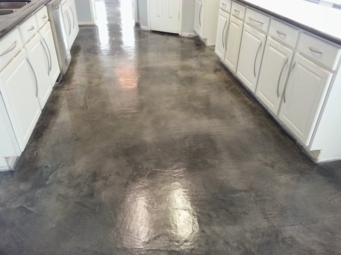 Stained Concrete Flooring Eco Stain Sealer And Wax For