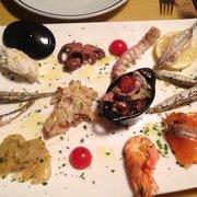 Osteria Alla Staffa - Pesche antipasti. - Venezia, Italien