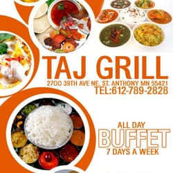 Taj Indian Grill - St. Anthony, MN, États-Unis