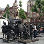Rembrandtplein, Amsterdam, Noord-Holland