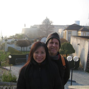 November 2011 - Thuy & me on the stairs