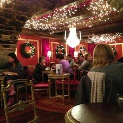 Weihnachtsdeko bei Café Schober, Zürich