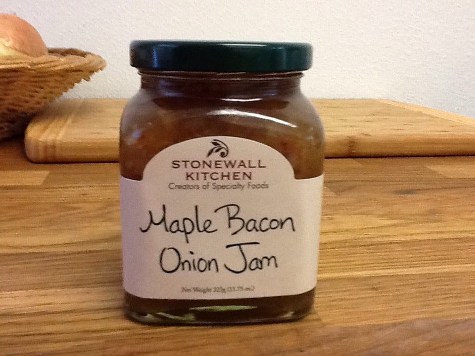 This jam is so yummy on burgers and other sandwiches The