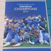 Chelsea FC 2012 European Champs