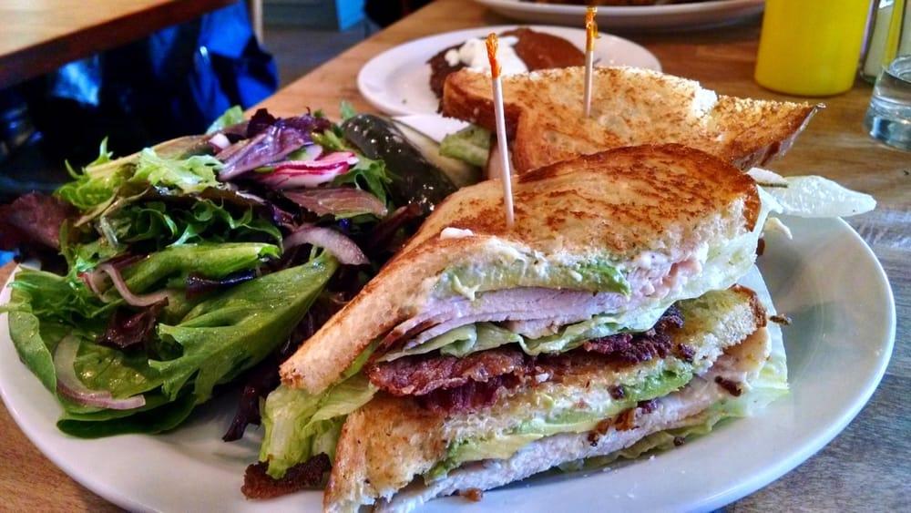 turkey bacon and avocado club turkey club turkey club sandwich salad ...
