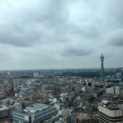 Lunchtime views from Viewing Gallery at Paramount