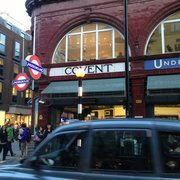 Covent Garden Tube Station, London, UK