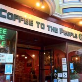 Coffee to the People - The Cafe - San Francisco, CA, Vereinigte Staaten