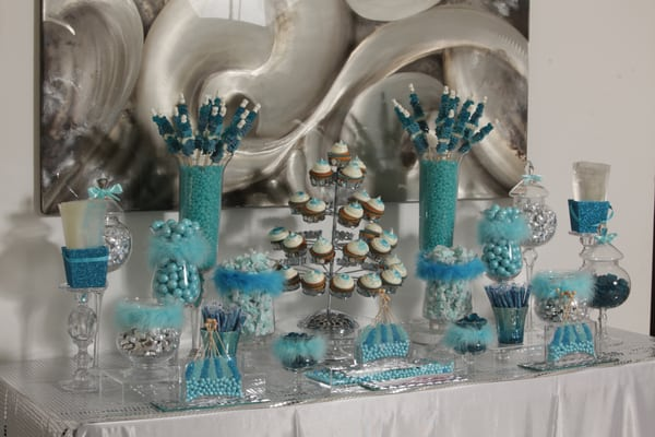 Baby shower candy buffet yelp - Blauw buffet ...