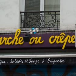 Marche ou Crêpe, Paris