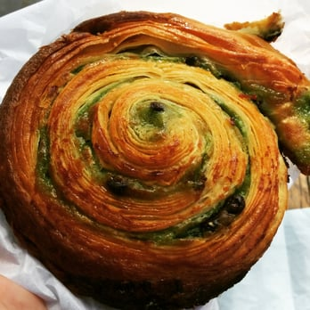 Du Pain et des Idées - Paris, France. Escargot Pistache-Chocolat