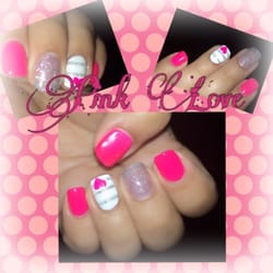 Nails - Austin, TX, United States. Tickle me PINK!! my shellac nails