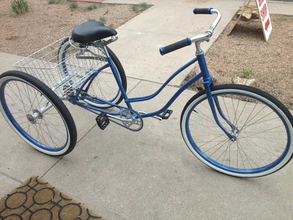 Bikes To Trikes Denver CoCo Bikes Restored custom