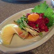 Tamaen Japanese BBQ - Yukke. Beef Tartar - Lomita, CA, Vereinigte Staaten