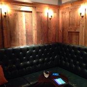 Comfy bar seats