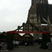 Ulmer Weihnachtsmarkt, Ulm, Baden-Württemberg, Germany
